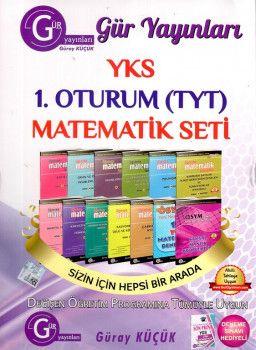 Gür Yayınları YKS 1. Oturum TYT Matematik Seti