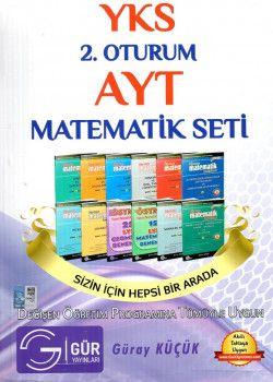 Gür Yayınları YKS 2. Oturum AYT Matematik Seti
