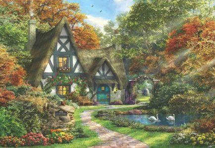 Güz Evi The Autumn Cottage 2000 Parça Yapboz