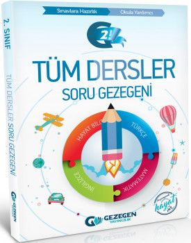 Gezegen Yayıncılık 2. Sınıf Tüm Dersler Soru Gezegeni