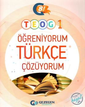 Gezegen Yayıncılık 8. Sınıf TEOG 1 Öğreniyorum Türkçe Çözüyorum