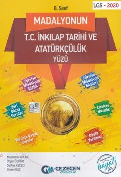 Gezegen Yayıncılık 8. Sınıf Madalyonun T.C. İnkılap Tarihi ve Atatürkçülük Yüzü