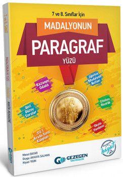 Gezegen Yayıncılık 7. ve 8. Sınıflar için Madalyonun  Mantık Yüzü Paragraf Yüzü