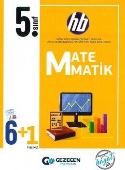 Gezegen Yayınları 5. Sınıf Matematik 6 + 1 Fasikül