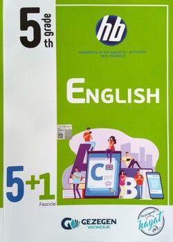 Gezegen Yayınları 5. Sınıf English 5 + 1 Fasikül