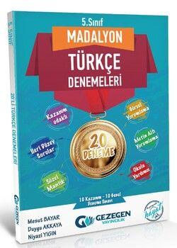 Gezegen Yayınları 5. Sınıf Türkçe Madalyon 20 li Denemeleri