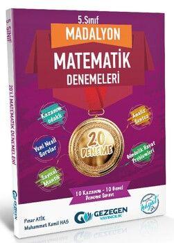 Gezegen Yayınları 5. Sınıf Matematik Madalyon 20 li Denemeleri