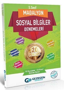 Gezegen Yayınları 5. Sınıf Sosyal Bilgiler Madalyon 20 li Denemeleri