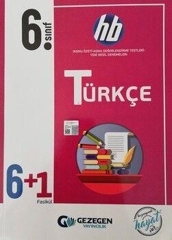 Gezegen Yayınları 6. Sınıf Türkçe 6+1 Fasikül