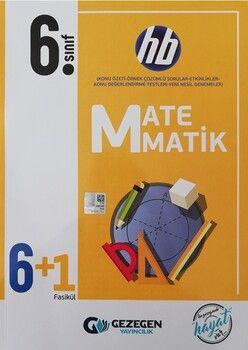 Gezegen Yayınları 6. Sınıf Matematik 6+1 Fasikül