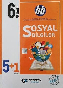 Gezegen Yayınları 6. Sınıf Sosyal Bilgiler 5 + 1 Fasikül