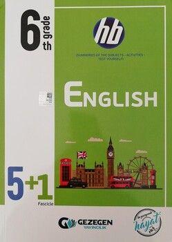 Gezegen Yayınları 6. Sınıf İngilizce 5 + 1 Fasikül