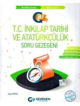 Gezegen Yayınları 8. Sınıf LGS T.C. İnkılap Tarihi ve Atatürkçülük Soru Gezegeni Geniş Kitap