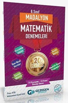 Gezegen Yayınları 8. Sınıf Matematik Madalyon 20 li Denemeleri