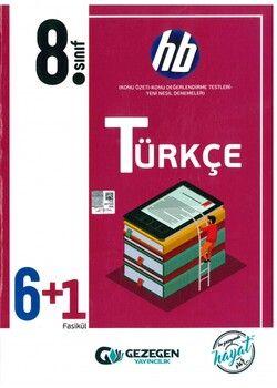 Gezegen Yayınları 8. Sınıf Türkçe 6 + 1 Fasikül