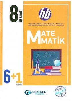 Gezegen Yayınları 8. Sınıf Matematik 6 + 1 Fasikül