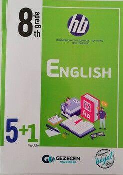 Gezegen Yayınları 8. Sınıf İngilizce 5 + 1 Fasikül
