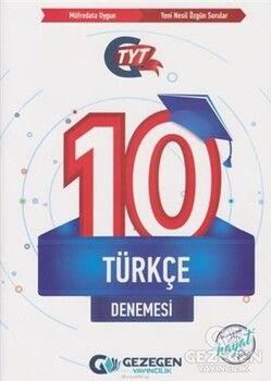 Gezegen Yayınları TYT Türkçe 10 Denemesi
