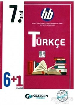 Gezegen Yayınları 7. Sınıf Türkçe 6 + 1 Fasikül