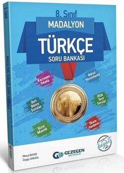 Gezegen Yayınları 8. Sınıf Türkçe Madalyon Soru Bankası