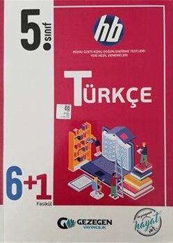 Gezegen Yayınları5. Sınıf Türkçe 6+1 HB