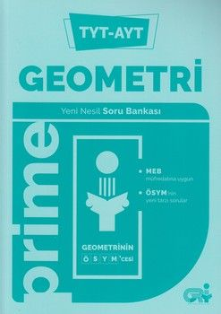 Gri Yayıncılık TYT AYT Geometri Prime Yeni Nesil Soru Bankası