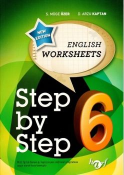 Harf Yayınları 6. Sınıf Step By Step English Worksheets  6