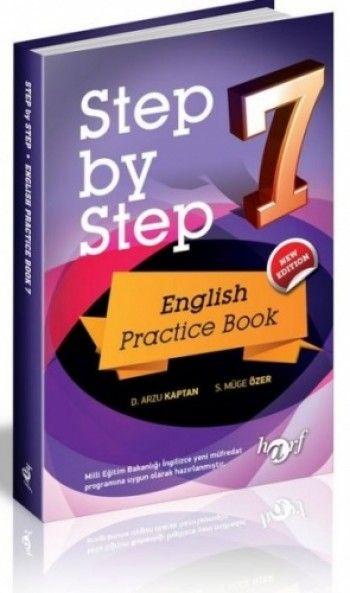 Harf Yayınları 7. Sınıf Step By Step English Practice Book