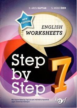 Harf Yayınları 7.Sınıf Step By Step English Worksheets 7