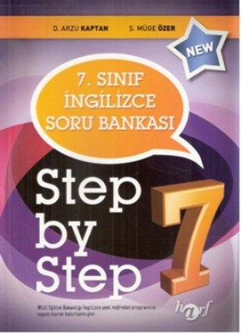Harf Yayınları 7. Sınıf Step By Step Soru Bankası