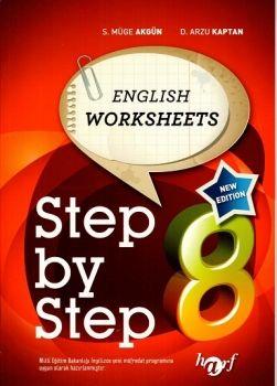 Harf Yayınları 8. Sınıf Step By Step English Worksheets