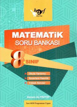Harf Yayınları 8. Sınıf Matematik Soru Bankası
