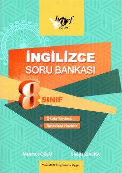 Harf Yayınları 8. Sınıf İngilizce Soru Bankası