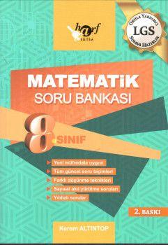 Harf Yayınları 8. Sınıf LGS Matematik Soru Bankası