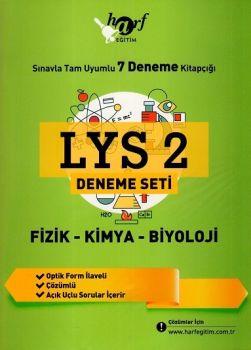 Harf Yayınları LYS 2 Fizik Kimya Biyoloji 7 li Deneme Seti