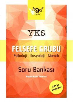Harf Yayınları YKS 2. Oturum AYT Felsefe Grubu Soru Bankası