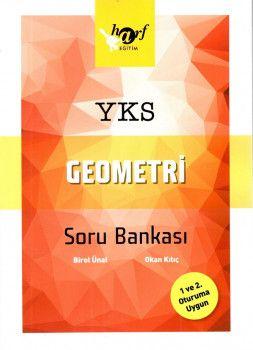 Harf Yayınları YKS 1. ve 2. Oturum TYT AYT Geometri Soru Bankası
