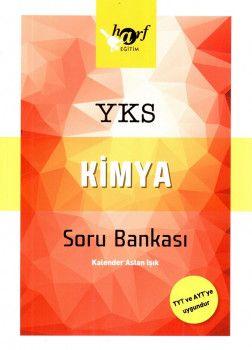 Harf Yayınları YKS 1. ve 2. Oturum TYT AYT Kimya Soru Bankası