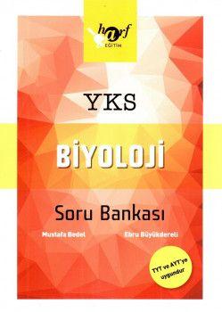 Harf Yayınları YKS 1. ve 2. Oturum TYT AYT Biyoloji Soru Bankası