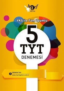 Harf Yayınları YKS 1. Oturum TYT 5 Deneme