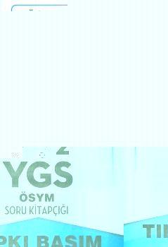 Havalı Yayınları YGS 2012 Tıpkı Basım ÖSYM Soru Kitapçığı