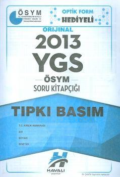 Havalı Yayınları YGS 2013 Tıpkı Basım ÖSYM Soru Kitapçığı