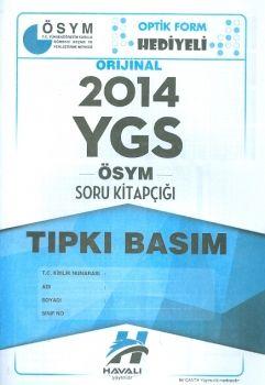 Havalı Yayınları YGS 2014 Tıpkı Basım ÖSYM Soru Kitapçığı