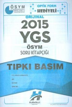 Havalı Yayınları YGS 2015 Tıpkı Basım ÖSYM Soru Kitapçığı