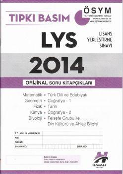 Havalı Yayınları LYS Tıpkı Basım 2014 Orjinal Soru Kitapçıkları