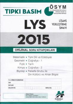 Havalı Yayınları LYS Tıpkı Basım 2015 Orjinal Soru Kitapçıkları