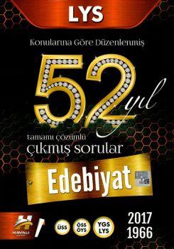 Havalı Yayınları LYS Edebiyat 52 Yıl Tamamı Çözümlü Çıkmış Sorular