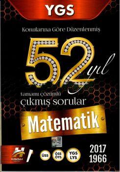 Havalı Yayınları YGS Matematik 52 Yıl Tamamı Çözümlü Çıkmış Sorular