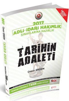 Hür Yayınları 2017 Adli İdari Hakimlik Sınavlarına Hazırlık Tarihin Adaleti