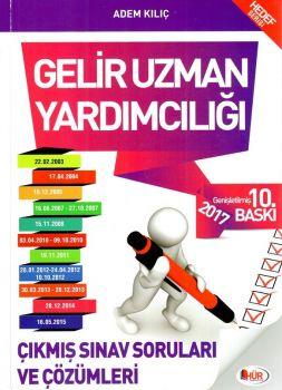 Hür Yayınları 2017 Gelir Uzman Yardımcılığı Çıkmış Sınav Soruları ve Çözümleri 10. Baskı